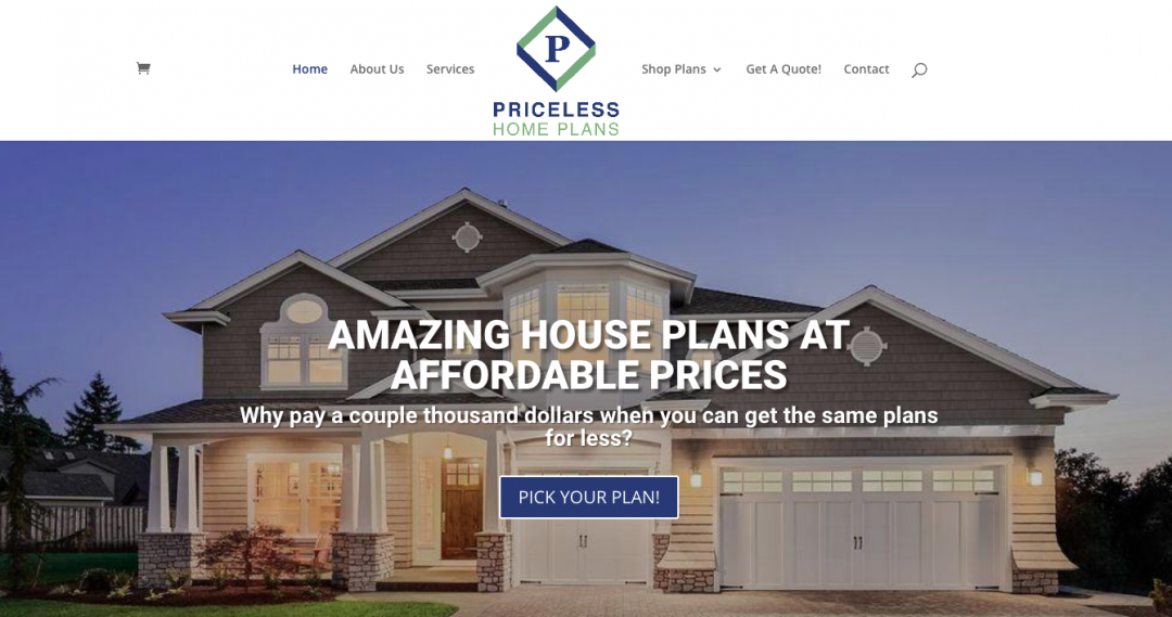 Priceless Home Plans